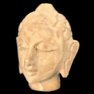 VERY RARE GANDHARA MARBLE BUST 200-400 AD (Large Size) (1)