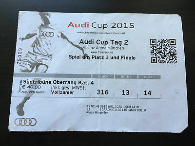 Audi cup tickets