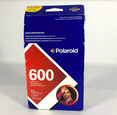 Polaroid 600 Instant Film 1 Pack 10 Photos Color Shield NEW Expired 4/2007