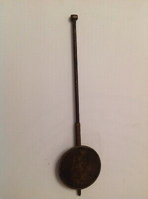 Antique Wall Clock Pendulum Bob 18g 32mm Diameter Rod 135mm