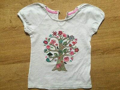 Baby Gap Toddler Girls Indian Cotton Embroidered & Applique Top 5 Years Pretty