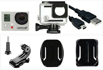 New GoPro HERO 3+ Plus Black 4K 12MP HD Sport Camera Camcorder waterproof Case