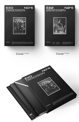 Exo Vol.6 Obsession Album - Obsession Version (+/- Poster) [Kpoppin Usa]