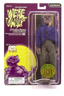 """Mego Horror Wave 6 - The Face Of The Screaming Werewolf 8"""" Action Figure (Full B"""