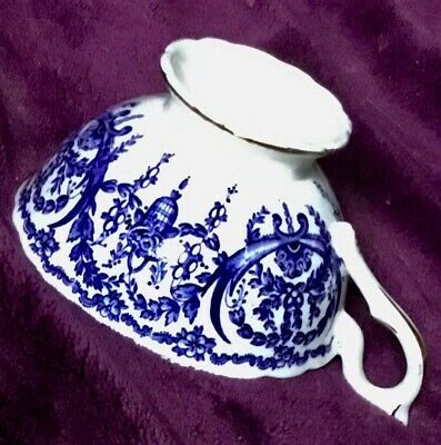 Coalport Blue Bone China, Made in England, A.D.1750 Tea Cup Excellent Condition