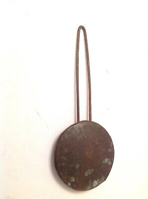 Antique Wall Clock Pendulum Bob 43mm Diameter