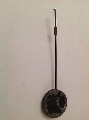 Antique Clock Pendulum Bob Silk Thread Style 70g 36mm Diameter Rod 135mm