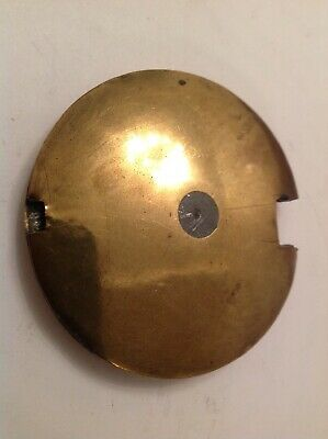 Antique Clock Pendulum Bob Brass 335g 75mm Diameter