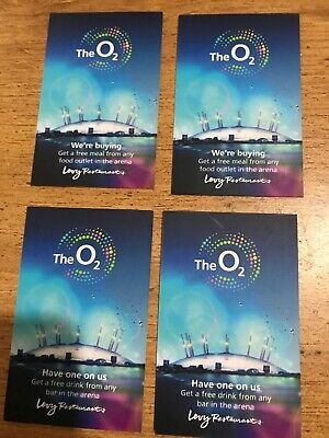 The O2 Arena Vouchers