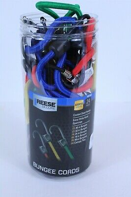 Reese Secure 24 Piece Standard Bungee Assortment Jar-24