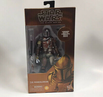 "Hasbro Star Wars Black Series The Mandalorian Carbonized 6"" Action Figure Target"