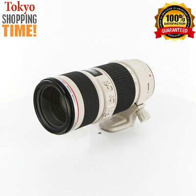 Canon EF 70-200mm F/4 L IS USM Lens from Japan