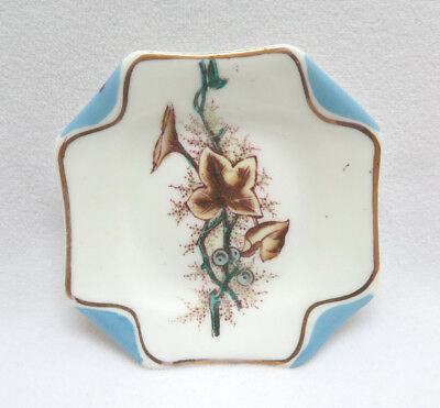 Antique S. B. & Son England Aesthetic Porcelain Butter Pat  #4