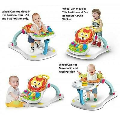 4 In 1 Multi Functional Entertainer Baby Walker Multifunction Lion