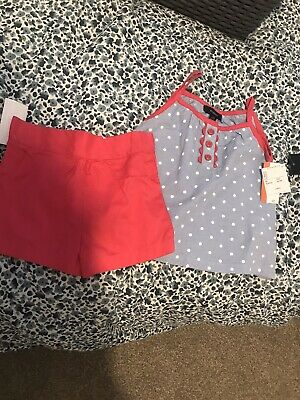 Baby Girls 2 Piece Outfit Age 18 Months - New