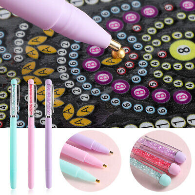 5D Diamond Painting Point Drill Pen DIY Crafts Sewing Cross Stitching Tools AU
