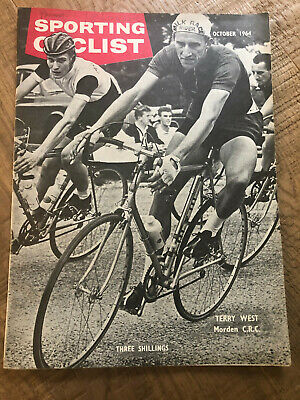 Sporting Cyclist Magazine / Octber 1964 / Terry West