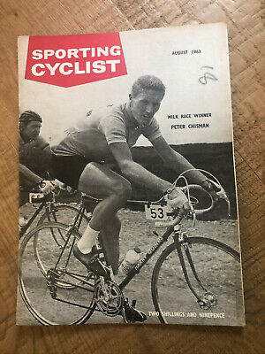 Sporting Cyclist Magazine / August 1963 / Pete Chisman