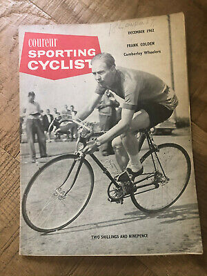Sporting Cyclist Magazine / December 1962 / The Great Frank Colden !
