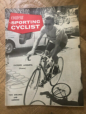 Sporting Cyclist Magazine / September 1961 /  Jacques Anquetil