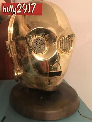 Star Wars C-3PO Custom Bluetooth Speaker Full Size Helmet
