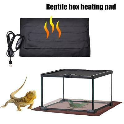 Waterproof Heat Mat Reptile Brooder Incubator Heating Pad Warm Heater Pet Supply