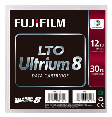 Fujifilm Lto8 Ultrium 12.0Tb / 30.0Tb Rw Bafe Data Cartridge (71040)