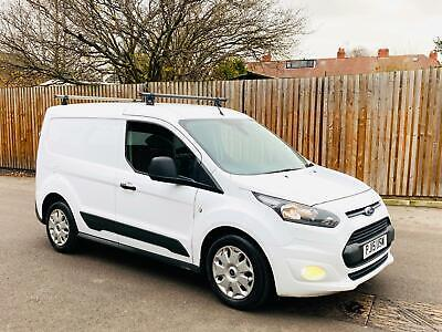 2015/15 Ford Transit Connect Trend 1.6 Tdci 95 Ps-3 Seater-L1 Swb-Frozen White!!