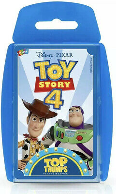 Top Trumps Toy Story 4 Card Game ***Brand New Sealed***