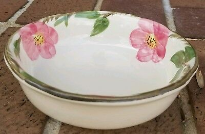 "Franciscan China Desert Rose Porringer Bowl 6"" inch FREE SHIPPING Minty"