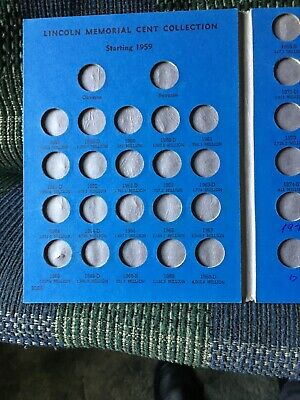 whitman folder Lincoln memorial cents 1995- 1995 economy grade good 2 go