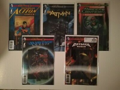 Futures End Lenticular Cover Lot The New 52  3D Nm New
