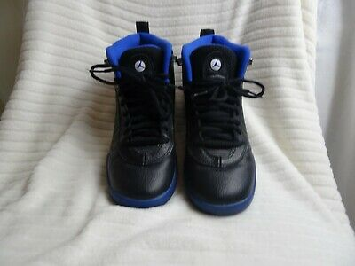 Jordan Jumpman Pro Black and Blue Unboxed Size 6 UK