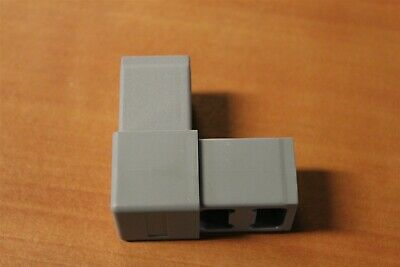 80/20 Inc Quick Frame Gray Nylon 2 Way Corner Connector #9120 D1-02