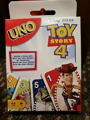Disney Pixar Toy Story 4 Uno Cards brand new and sealed