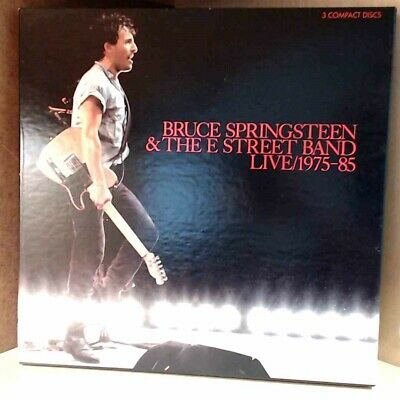 Bruce Springsteen & The E Street Band Live 1975-85 [Box] (CD, 3 Discs, 1986) 745