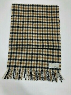 Aquascutum vintage cashmere Multi colour Scarf / Scarves Winter christmas gift