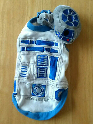 Star Wars, R2-D2 small dog outfit, cotton mix, DSS.