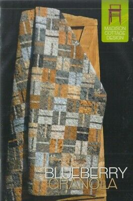 Uses 10 Inch Squares Nellie by Gudrun Erla 4 Sizes Modern Quilt Pattern