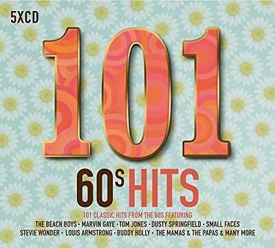 101 60s Hits Various Artists 5 CD Digipak NEW