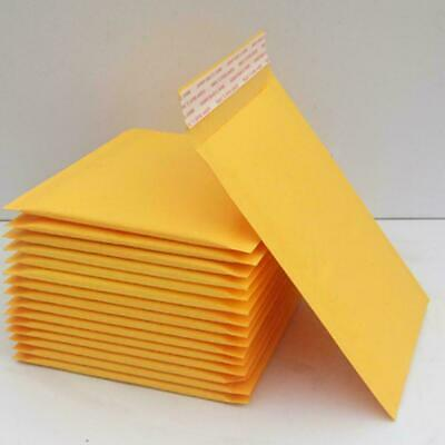 Yellow Kraft Bubble Mailers Padded Envelope Shipping Seal Self Bags Z5W9