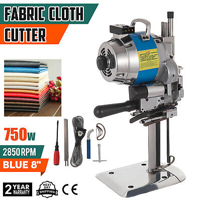 "Fabric Cloth Cutter Blue 8"" Cutting Machine Electric Knife Wool Umbrellas"
