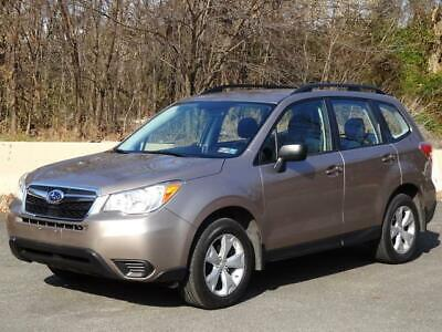 2015 Subaru Forester 2.5i Premium AWD 4WD PZEV CLEAN CARFAX 92K Mls BACKUP CAM KEYLESS ENTRY BLUETOOTH USB/AUX-INPUT COLD AC CD-PLAYER RUNS GREAT
