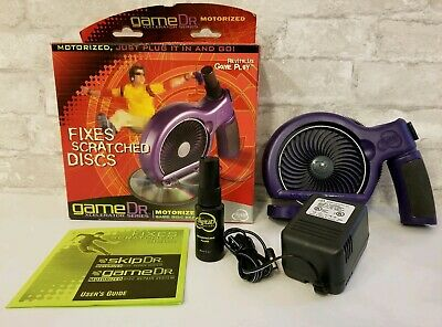 New Game Dr Motorizes Disc Cleaner Repair Kit System 10330 00 A Open Box BB020G1