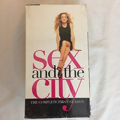 Sex And The City Season One VHS New Sealed Complete First Season Free Shipping!