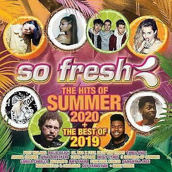 So Fresh The Hits of Summer 2020 + The Best of 2019 Various Artists 2 CD NEW