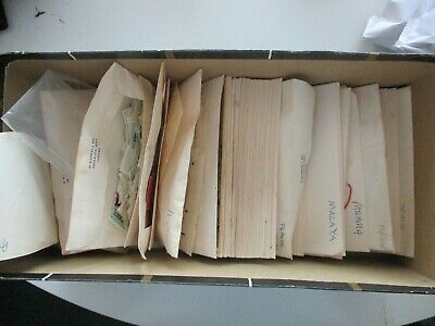 ESTATE: World in envelopes unchecked unsorted as received (b1442)