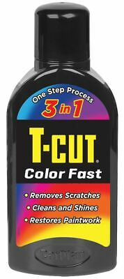 T-Cut Black Color Fast 3in1 Paintwork Scratch Remover Restorer Car Polish 500ml