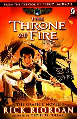 The Throne of Fire: The Graphic Novel (The Kane Chronicles Book 2) 9780141366586