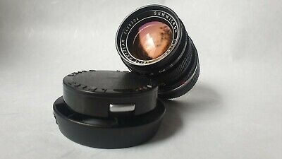 Leica summicron 50mm f2 11817 german type, excellent condition, CLA Leica